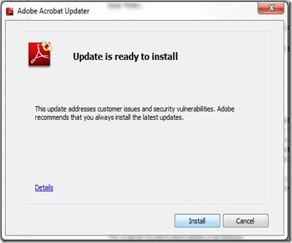 Crappy Adobe Updates