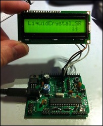 2-wire LCD