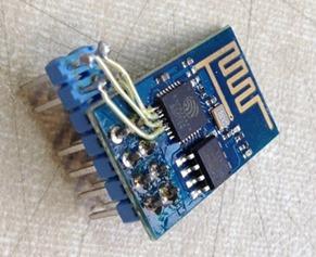 Daver Allan's hacked ESP-01