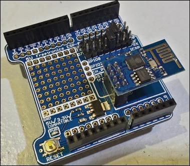 ESP-01 prototyping