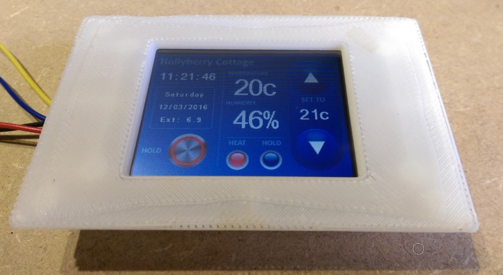 Nextion WIFI Touch Display | My Tech Weblog